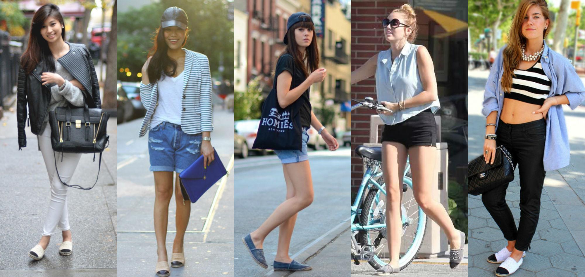 Resultado de imagen para alpargatas mujer con jeans