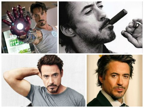 iron man collage