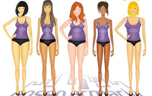 Los diferentes tipos de cuerpos de mujer   Noticias de fitness en Diario de  Navarra