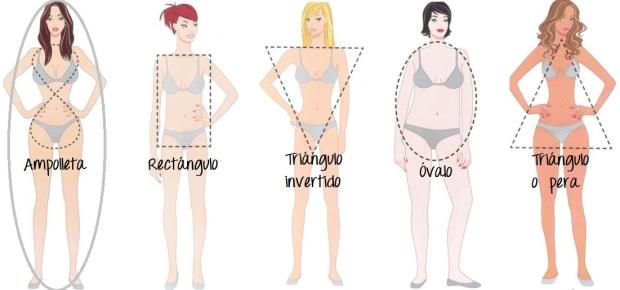 tipos de cuerpo ampolleta
