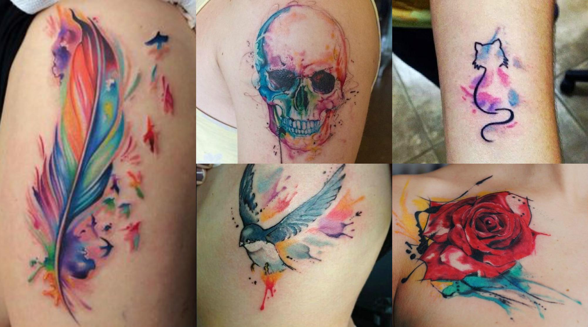 Tatuajes Impares inspiración: watercolor tattoo – capricho site